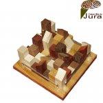 puzzle en bois la ville