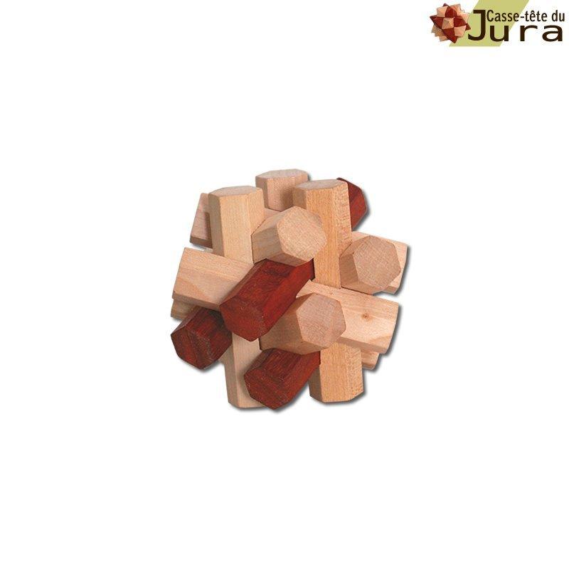 casse tete en bois hexago