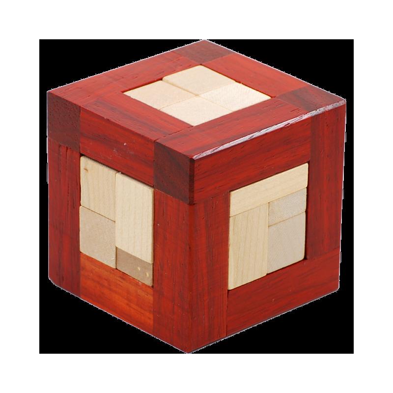 Cubox, cube casse tete en bois