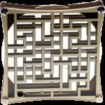 Casse tete en bois le Labyrinthe carré grand format
