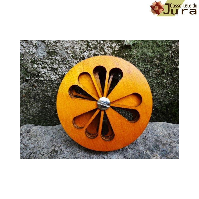 puzzle orange pour enfant