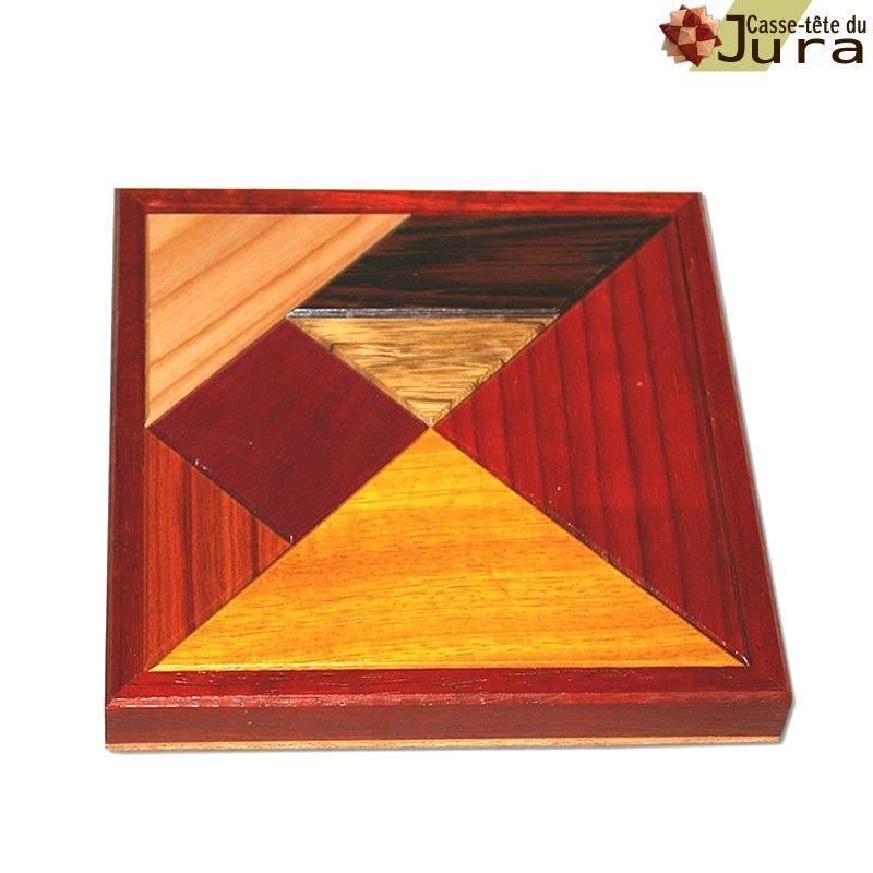 Grand tangram en bois