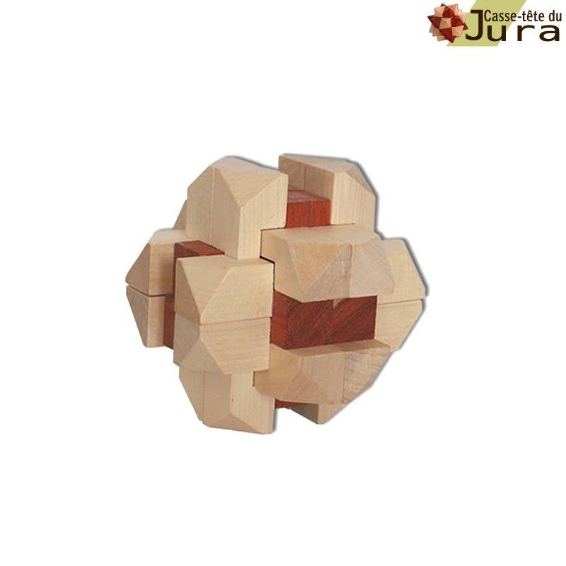 casse tête en bois nœud celtique casse tete puzzle bois fabrication artisanale France  Jura