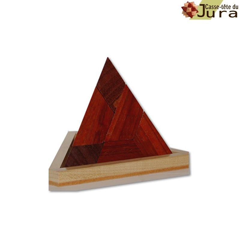 casse tete pyramide en bois Tempil