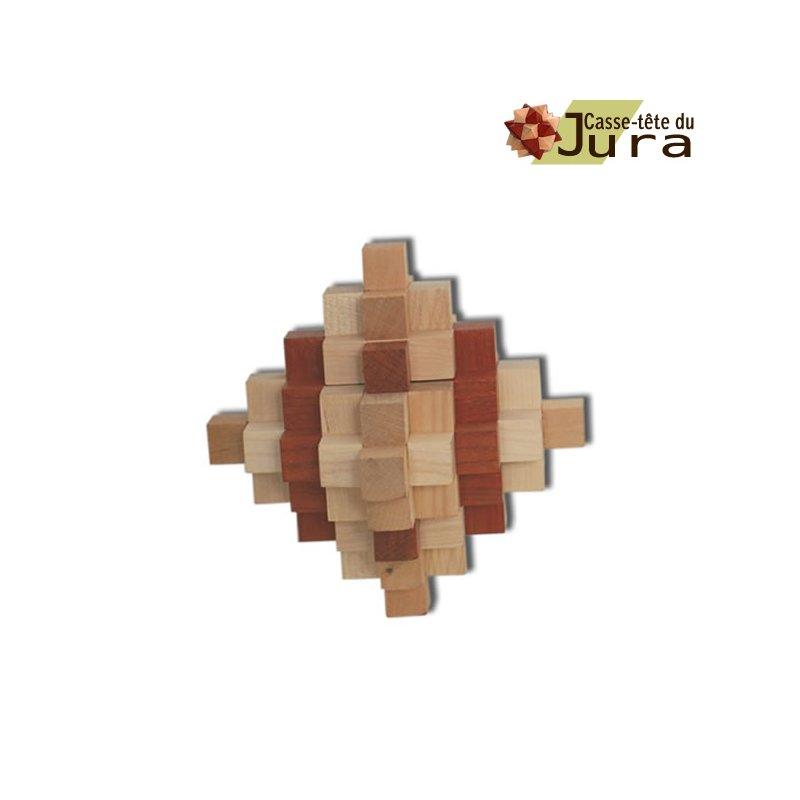 pyramide  en bois 33 pieces